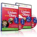 Teach Me To Listen and Obey 1 and 2 are NOW Available!