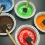 WINTER IDEAS FOR PAINTING with Toddlers