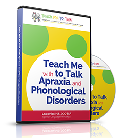 Teach Me to Talk with Apraxia and Phonological Disorders
