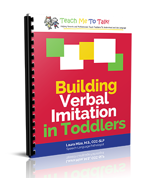 Building Verbal Imitation in Toddlers