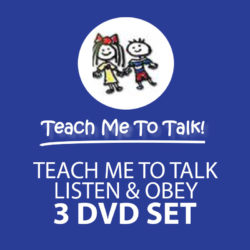 3 DVD Set Teach Me To Talk + Listen and Obey