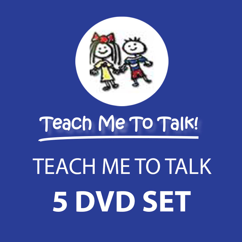 5 DVD Set - Teach Me To Talk DVD Collection