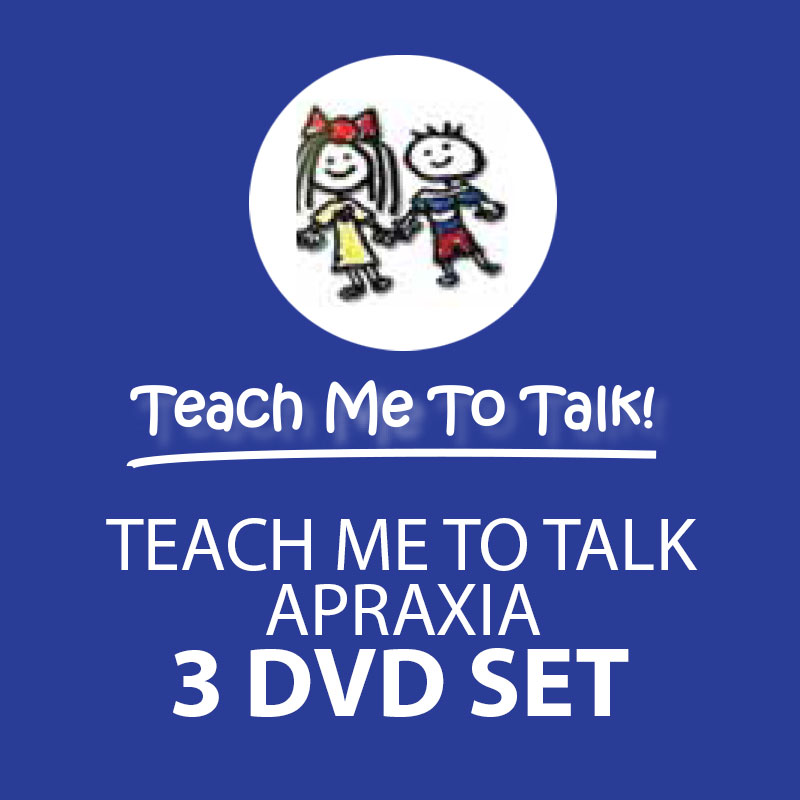 Both Apraxia and Talk DVDs