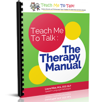 Teach Me To Talk Therapy Manual